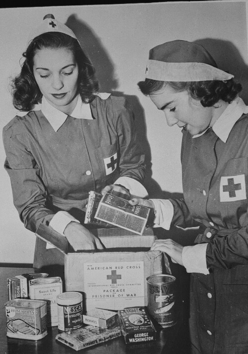 American National Red Cross Pow Bulletins 1943 1945